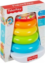 Piramidka z kółek z koralikami Fisher Price FHC92