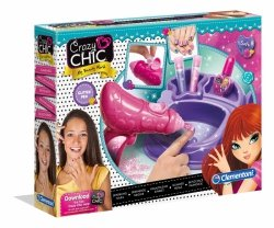 Błyszczące paznokcie Crazy Chic Clementoni 78291