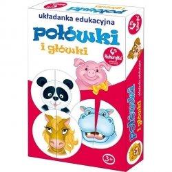 Gra edukacyjna Połówki i główki Adamigo 56035