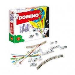 Gra 2w1 Domino Bierki Alexander 1383