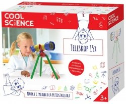 Teleskop Cool Science Nauka i Zabawa TM Toys 4005