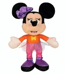 Maskotka Pluszowa Minnie w Pomarańczowo Różowym Stroju 25 cm TM Toys 180307