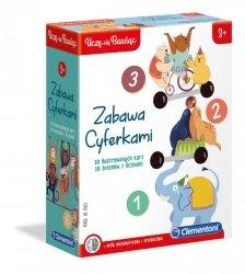 Gra Edukacyjna Zabawa Cyferkami Clementoni 50090
