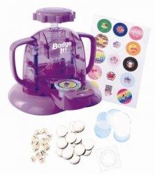 Maszyna do robienia znaczków zabawka dla dzieci Zrób przypinki Badge It Bandai 8010