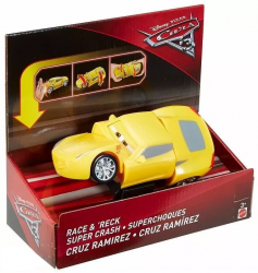 Auta z kraksą Cars Auta Mattel Cruz RamirezDYW10