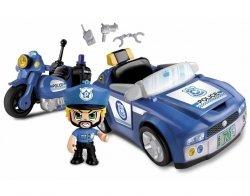 Pinypon Action Pojazd z Figurką 7 cm i Akcesoriami Policja/Straż Pożarna Epee