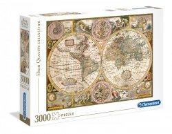 Puzzle Antyczna Mapa 3000 el. Clementoni 33531