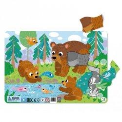 Puzzle Ramkowe Niedźwiadki 21 el. Dodo 300221
