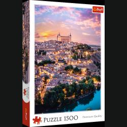 Puzzle Toledo Hiszpania 1500 el. Trefl 26146