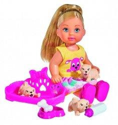 Laleczka Evi ze szczeniaczkami Simba 5733041