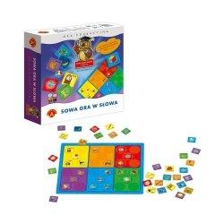 Gra Edukacyjna Sowa Mądra Głowa Sowa Gra w Słowa Alexander 0374
