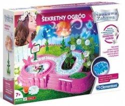 Zestaw doświadczalny Sekretny Ogród Naukowa Zabawa Clementoni 50517