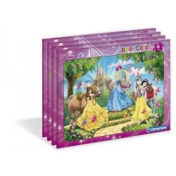 Puzzle Ramkowe Księżniczki 15 el. Clementoni 22220