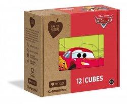 Puzzle Kostkowe Auta Cars 12 el. Clementoni 45001