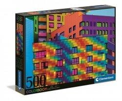 Puzzle Kolorowe Kwadraty Color Boom 500 el. Clementoni 35094