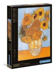 Puzzle Słoneczniki Vincent van Gogh 1000 el. Clementoni 31438