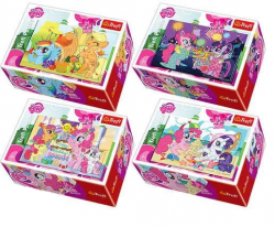 Puzzle Kucyki My Little Pony mini 54 el. Trefl 54128