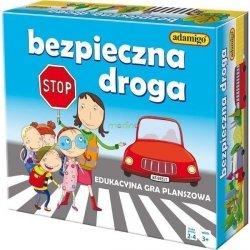 Gra edukacyjna Bezpieczna droga Adamigo 00696