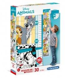 Puzzle Zwierzątka Disneya Miara Wzrostu 30 el. Clementoni 20335