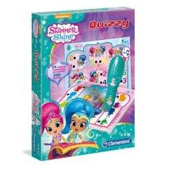 Interaktywna Gra Edukacyjna Quizy Shimmer i Shine Clementoni 60967