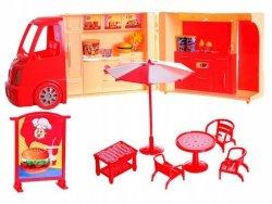 Auto Food Truck Duży Kamper Hamburger Madej 86395
