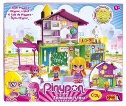 Pinypon City Zestaw Szkoła z 3 Laleczkami i Akcesoriami Epee 14102