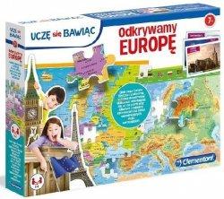 Puzzle Edukacyjne Odkrywamy Europę Uczę się Bawiąc Clementoni 50020