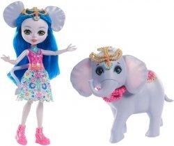 Lalka Ekaterina Elephant ze słonikiem Antic Enchantimals Mattel FKY73 FKY72