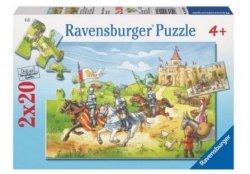 Puzzle Rycerska wyprawa 2x20 el. Ravensburger 090181