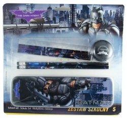 Batman Zestaw 5 przyborów szkolnych Pentra 884441