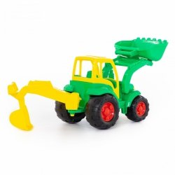 Traktor z łopatą i łyżką Mistrz Polesie 0513