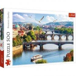 Puzzle Praga Czechy 500 el. Trefl 37382