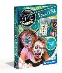 Crazy Chic Zestaw do Malowania Twarzy Clementoni 78770