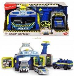 Policyjna Jednostka SWAT + 3 samochody SOS Dickie Toys 3717004