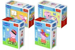 Puzzle Zabawy Świnki Peppy 20 el. Trefl 56000