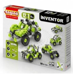 Klocki konstrukcyjne Engino Inventor 12w1 Samochody Engino Formatex 1231