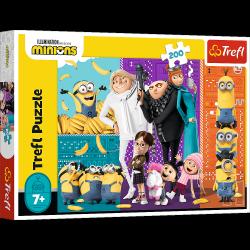 Puzzle Minionki Górą 3 200 el. Trefl 13275