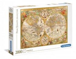 Puzzle Antyczna Mapa 2000 el. Clementoni 32557