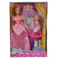 Lalki Steffi i Evi Królowa z królewną Simba 5733223