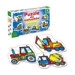 Puzzle dla Maluszków Maszyny Budowlane 27 el. Alexander 0541