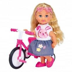Lalka Evi na trójkołowym rowerku Simba 5733347