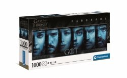 Puzzle Panoramiczne Gra o Tron Game of Thrones 1000 el. Clementoni 39590