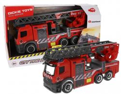 Pojazd SOS Straż Pożarna z Drabiną 26 cm Światło Dźwięk Dickie