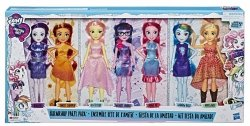 Lalki My Little Pony Equestria Girls Friendship Party 7pack Hasbro E1933