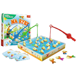 Gra Zręcznościowa Na ryby Rodzina Treflików Trefl 01963