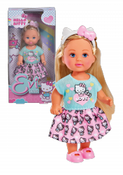Laleczka Evi w Stylizacji Hello Kitty Simba 9283014