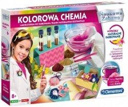 Zestaw doświadczalny Kolorowa Chemia Naukowa Zabawa Clementoni 50518