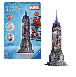 Puzzle 3D Empire State Building Marvel 216 el. Ravensburger 125173