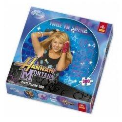 Puzzle Hannah Montana okrągłe 300 el. Trefl 39016