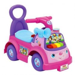 Jeździk Muzyczna Parada Little People Fisher Price różowy 8326